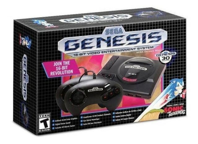 Sega genesis mega drive mini sonic original