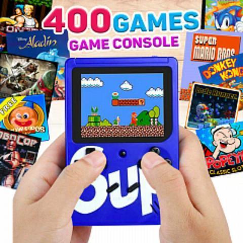 Vídeo game portátil sup game boy 400 jogos retro clássico