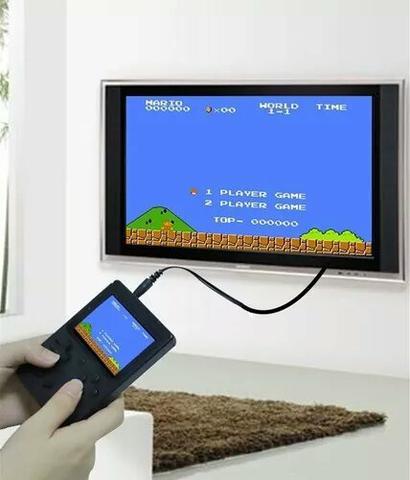 Video game sup portátil box retro 400 jogos pode ligar na