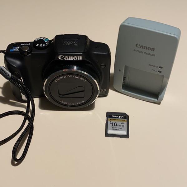 Camera digital canon sx170 is