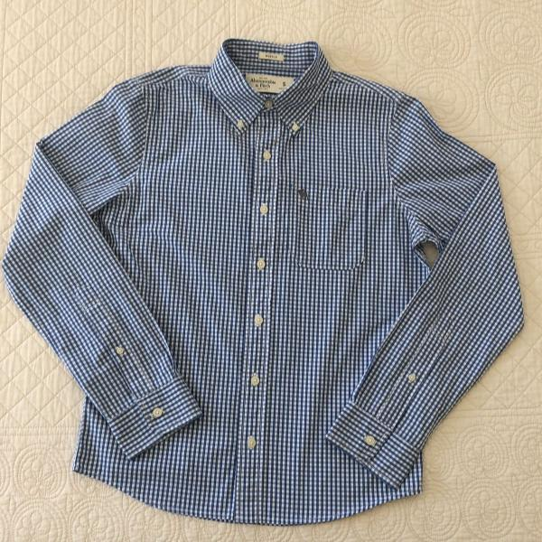 Camisa abercrombie & fitch, tamanho s, modelo muscle