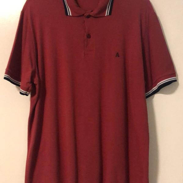 Camisa polo adji vermelha