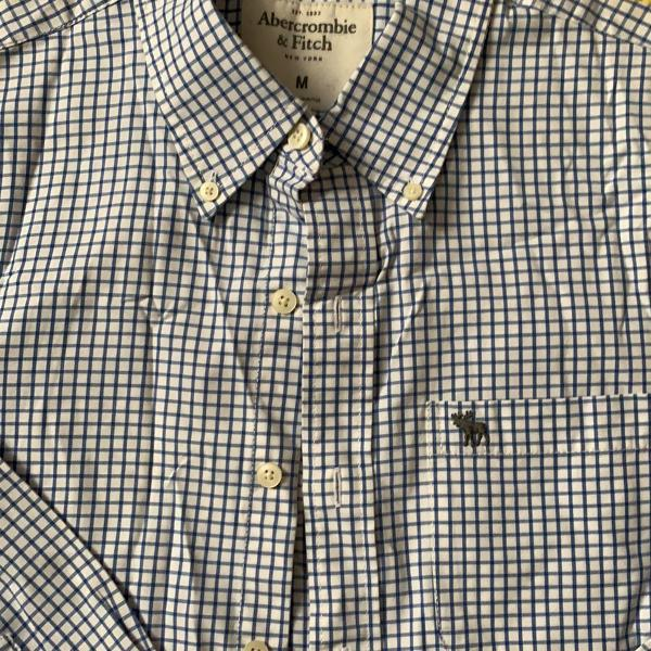 Camisa social masculina abercrombie and fitch tam m