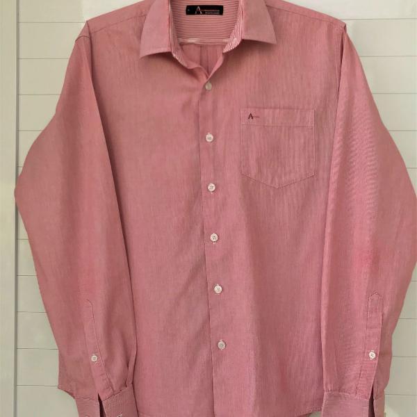 Camisa social masculina aramis listrada p