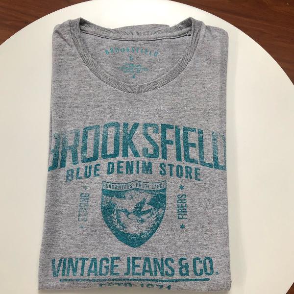Camiseta cinza brooksfield