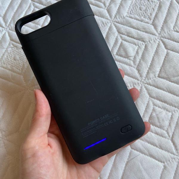 Capa carregadora (power case) iphone 7 plus