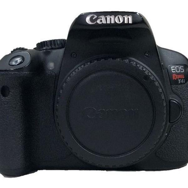 Câmera canon eos rebel t4i semi profissional dslr