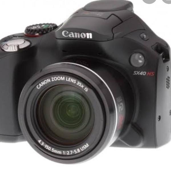 Câmera canon power shot semi profissional novíssima
