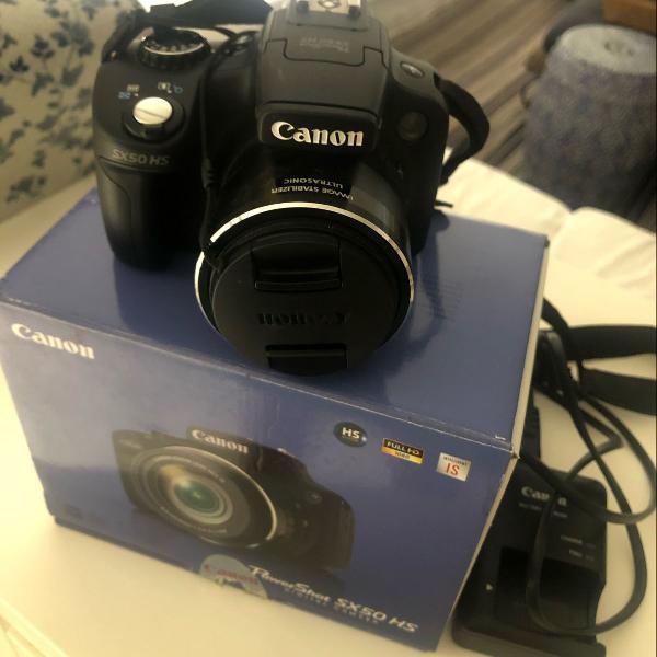 Câmera digital canon sx50 hs novíssima