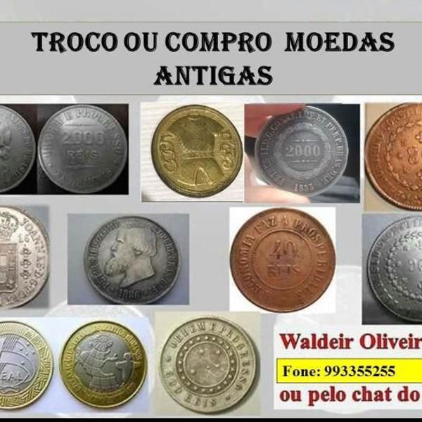 Compro moedas do brasil, prata, bronze, cobre, níquel