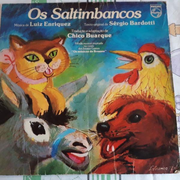 Lp os saltimbancos-chico buarque-1977