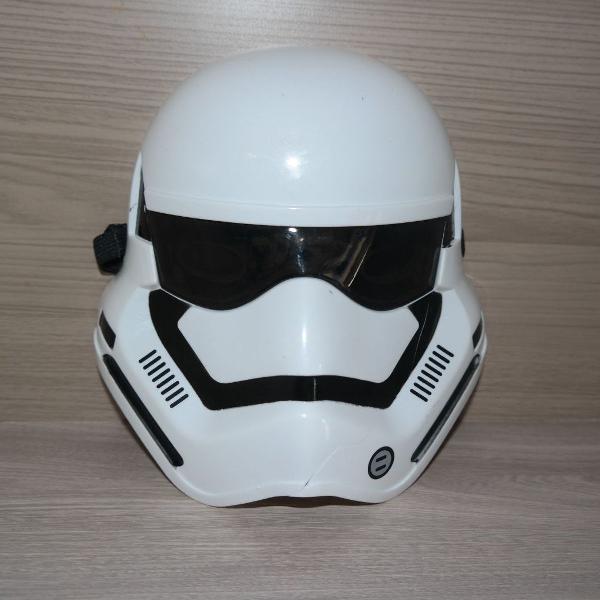 Mascaras star wars soldado stormtrooper com detalhe veja
