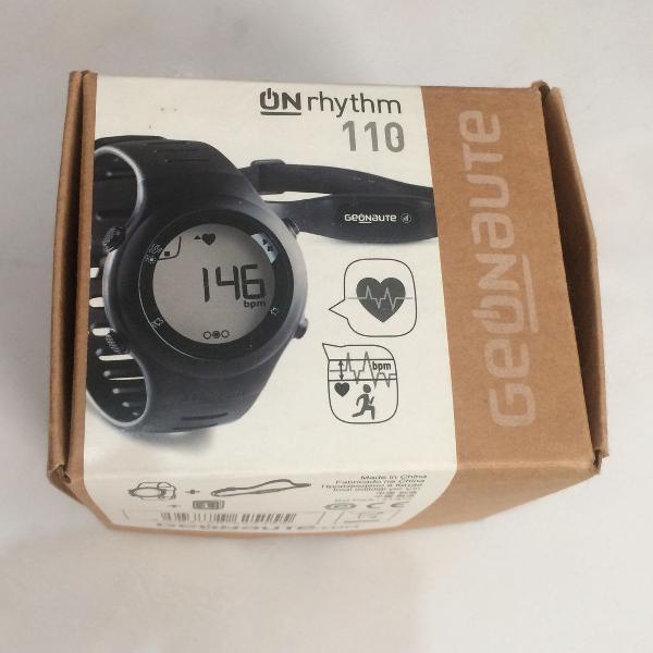 Relógio monitor cardíaco / frequencímetro