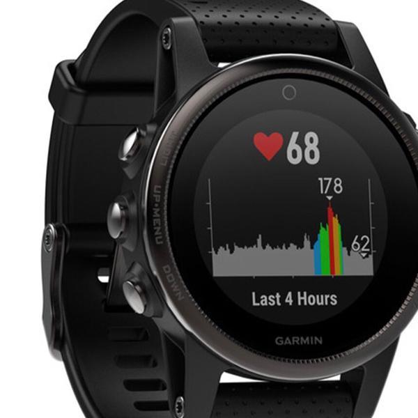 Relógio smartwatch multiesportivo garmin fênix 5s saphira