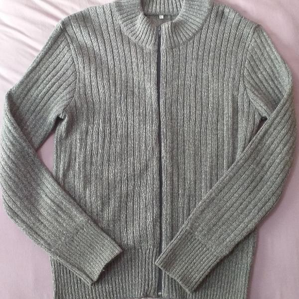 Suéter cinza importado da argentina
