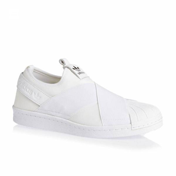 Tênis com elástico adidas slip on branco masculino tamanho