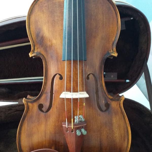Violino da nhuresom, modelo le messie - strad 1716,