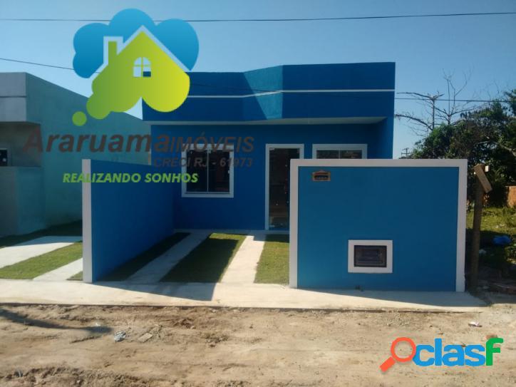 Oportunidade unica ótima casa nova com 2 quartos com excelente localização.