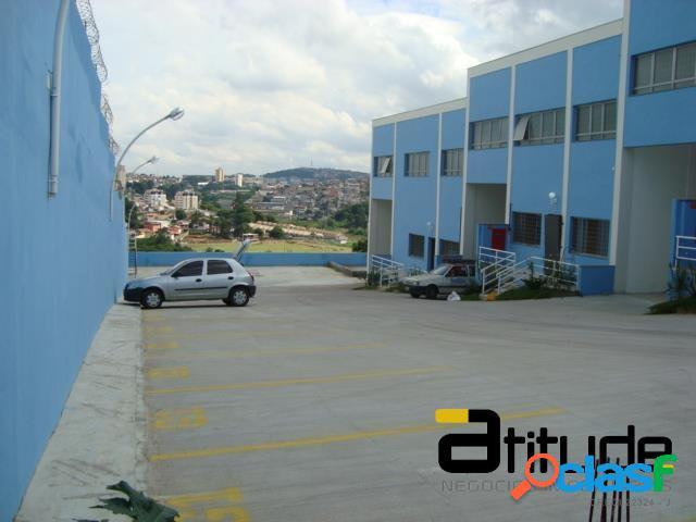 Galpão aluguel 659 m² chácara marco - barueri