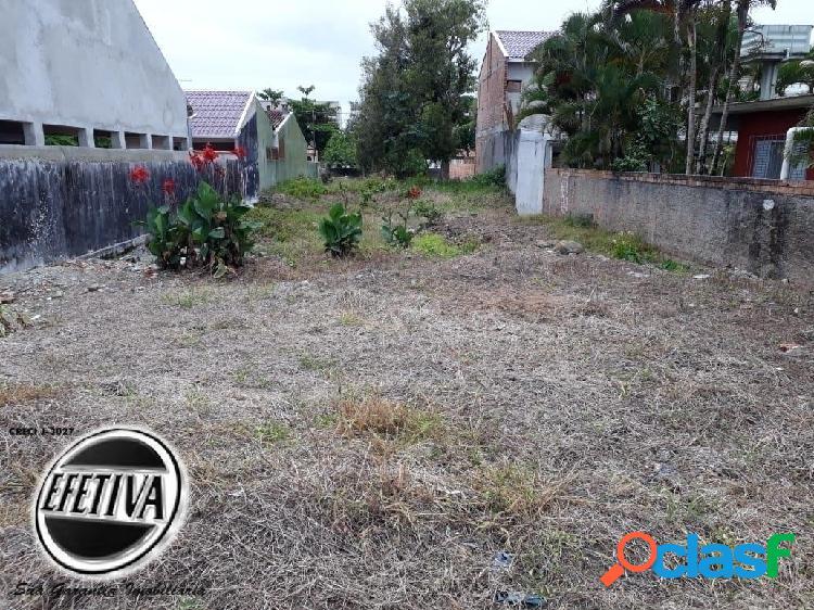 Terreno semi murado à venda - balneário solymar - matinhos pr