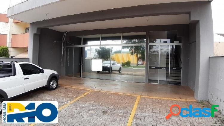 Salão comercial para locação, área total de 180 m² av. harris prochet.