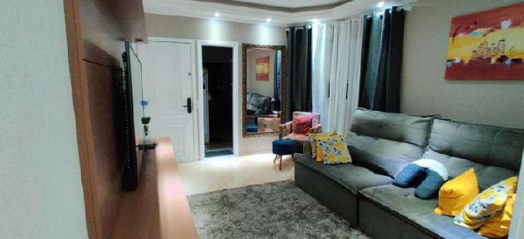 Apartamento centro de 3 dormitórios com 2 vagas demarcadas