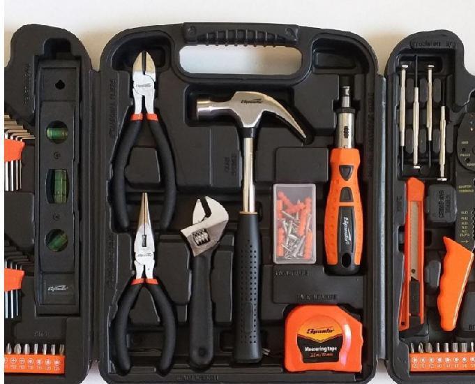 Caixa de ferramentas 129 peças com maleta