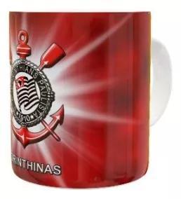 Canecas de porcelana personalizadas do corinthians 325 ml