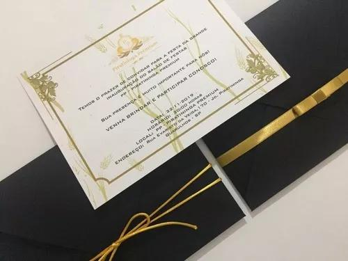 Convites, caixas padrinhos, l