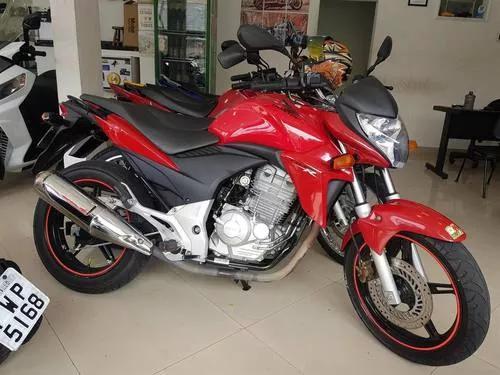 Honda cb 300r 2010 vermelha 28000 km
