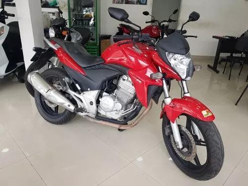 Honda cb 300r 2014 vermelha