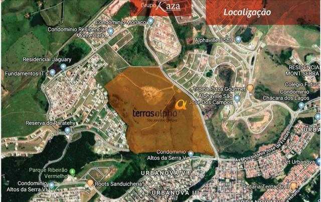 Lançamento terras alpha -lotes em condominio fechado -