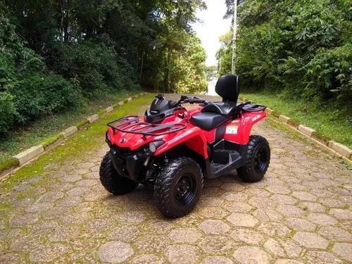 Quadriciclo can am outlander 570 max (automático)