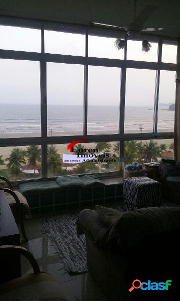 Apartamento 3 dormitórios com dependência de empegada vista mar!