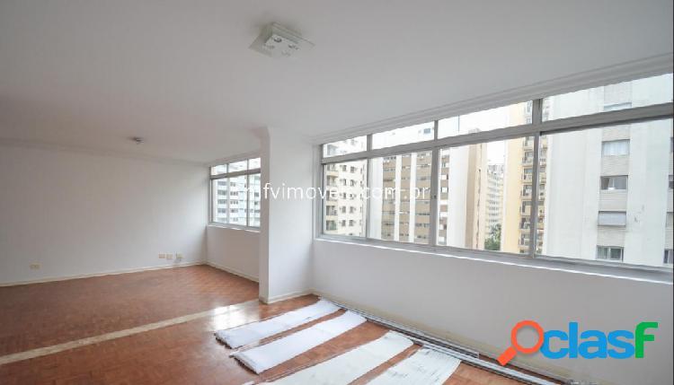 Apartamento 3 quartos para alugar na rua caconde - jardim paulista