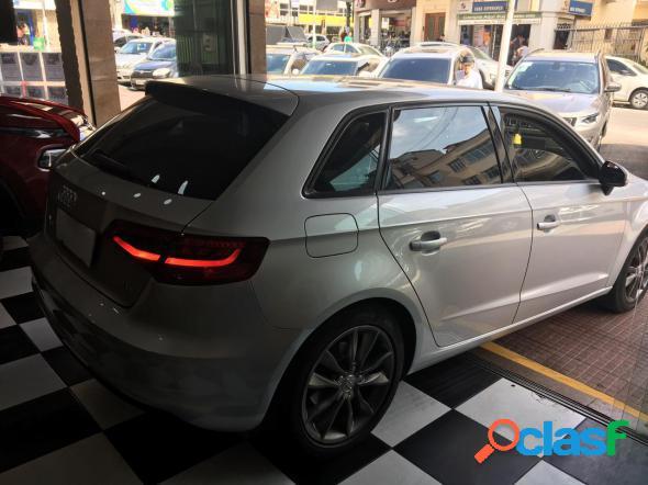 Audi a3 sportback 1.8 16v tfsi s-tronic 5p prata 2014 1.8 gasolina