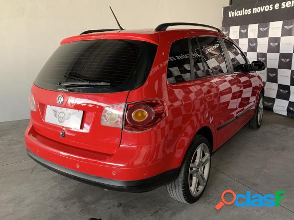Volkswagen spacefox route 1.6 mi t.flex 5p vermelho 2010 1.6 gasolina