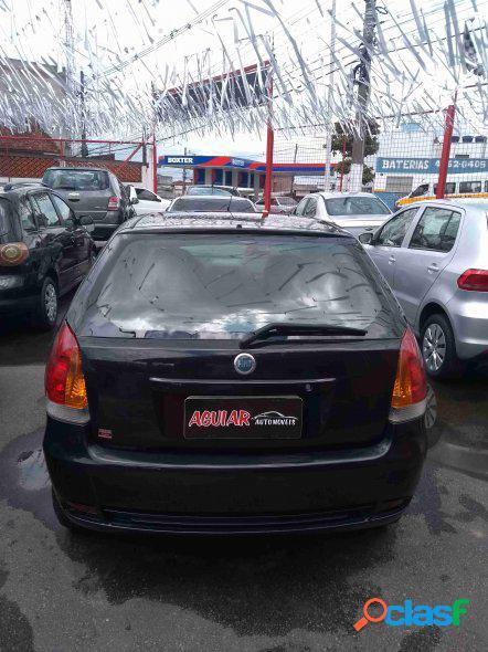 Fiat palio hlx 1.8 mpi flex 8v 4p preto 2004 1.8 gasolina e alcool