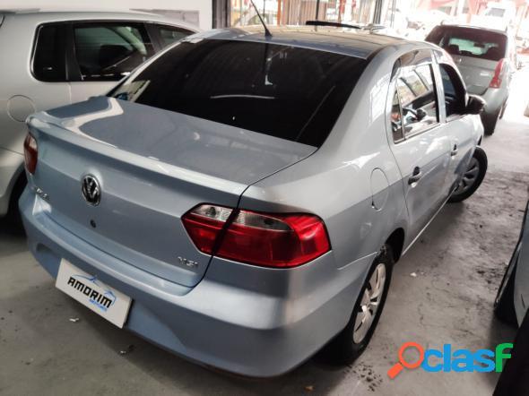 Volkswagen voyage trendline 1.6 t.flex 8v 4p prata 2015 1.6 flex