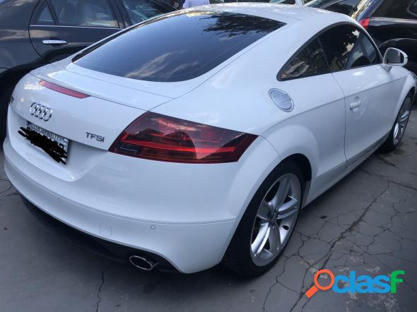 Audi tt 2.0 16v tfsi s-tronic branco 2012 2.0 gasolina