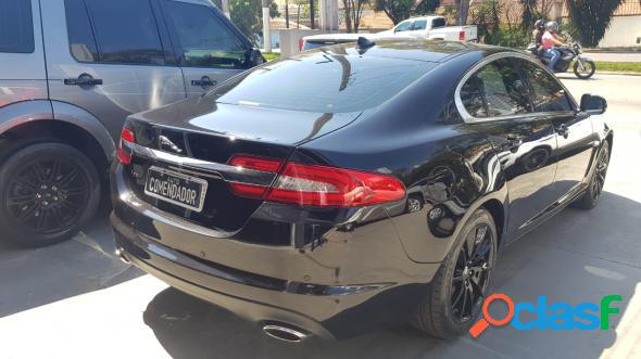 Jaguar xf 2.0 luxury 240cv aut. preto 2013 2.0 gasolina