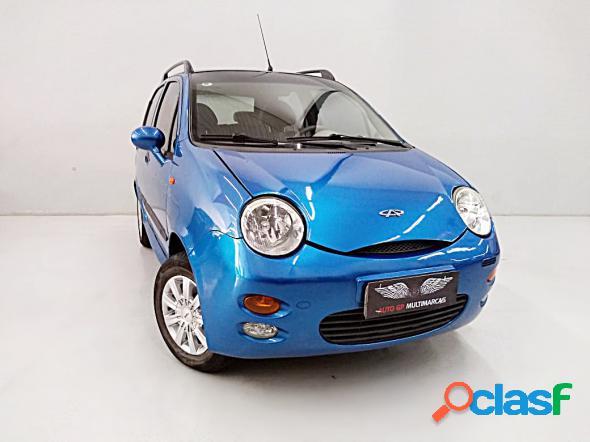 Chery qq 1.11.0 12v 69cv 5p azul 2012 1.1 gasolina