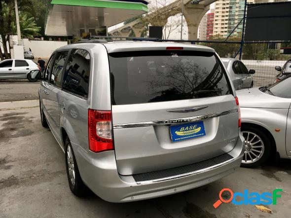 Chrysler town & country limited 3.8 3.6 v6 aut. prata 2011 3.8 v6 gasolina