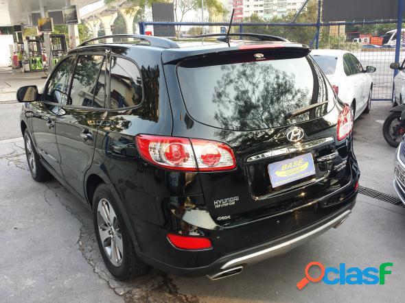 Hyundai santa fe gls 3.5 v6 4x4 tiptronic preto 2013 3.5 gasolina