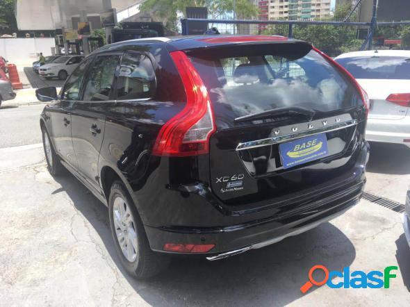 Volvo xc 60 kinetic 2.0 t5 preto 2016 2.0 t gasolina