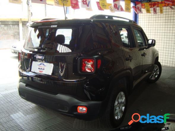 Jeep renegade sport 1.8 4x2 flex 16v aut. preto 2018 1.8 flex