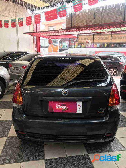 Fiat palio hlx 1.8 mpi flex 8v 4p cinza 2005 1.8 flex
