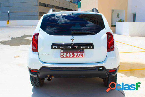 Renault duster authent. 1.6 flex 16v aut.(pcd) branco 2018 1.6 flex