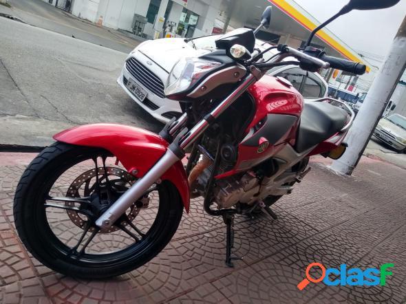 Yamaha fazer ys250 vermelho 2014 250 gasolina