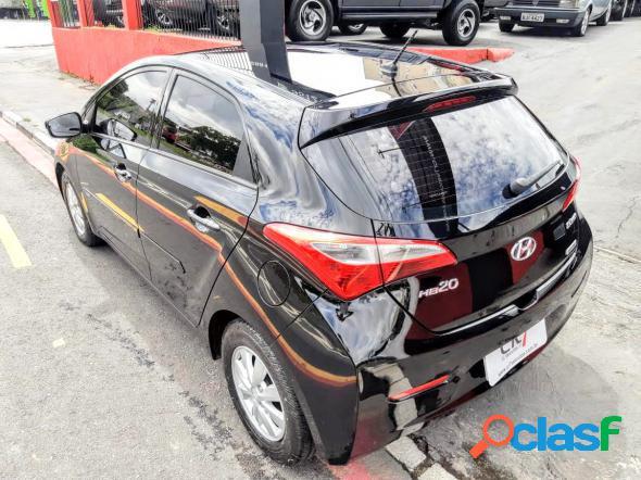 Hyundai hb20 c.stylec.plus 1.6 flex 16v aut. preto 2014 1.6 flex